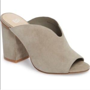 BP Tonya Open Toe Mule size 7.5 in Gray